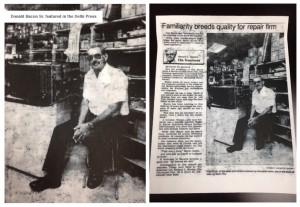 don bacon appliance service history