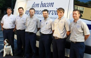 about don bacon appliance service techs