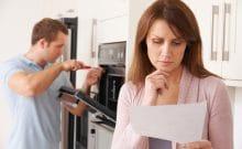 replace or repair broken appliances