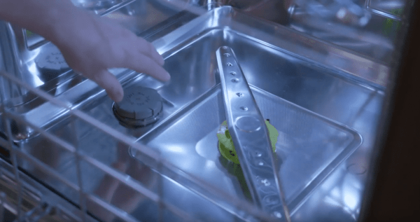 clean a cove dishwasher