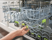 how to clean a cove dishwasher interior