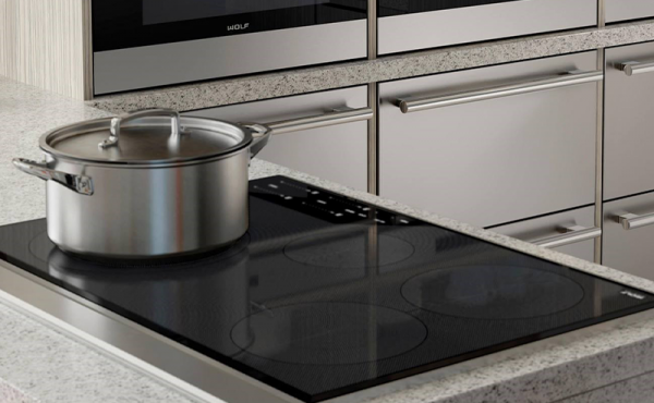 how do you unlock Wolf induction cooktop
