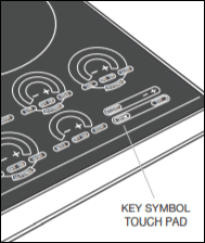 wolf induction cooktop won't unlock