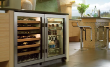 sub-zero wine cooler 424 not cold enough