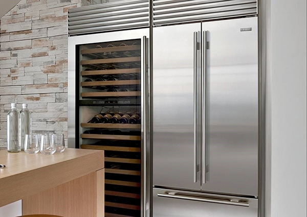 what is an integrated refrigerator