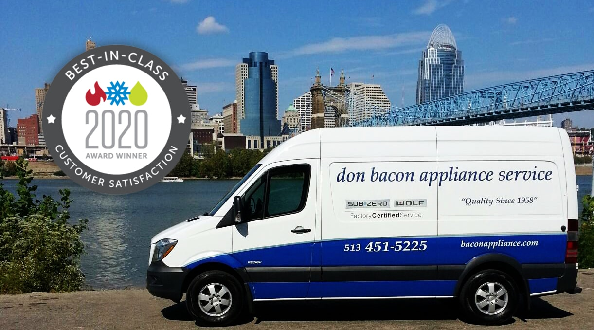 Don Bacon Appliance Service Earns the 2020 Best-in-Class Award