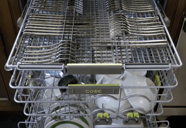 how to load a Cove dishwasher