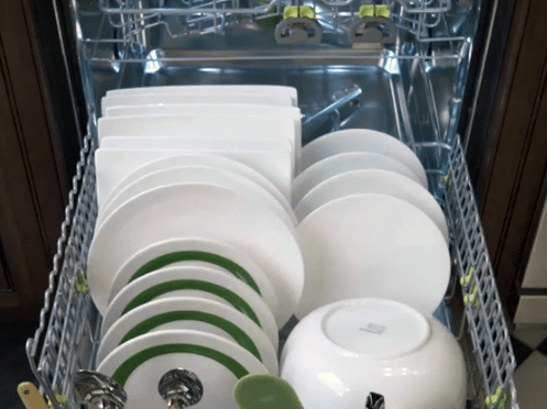 how to load silverware in a Cove dishwasher