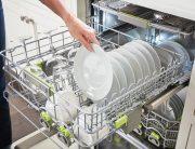 powder or liquid dishwasher detergent